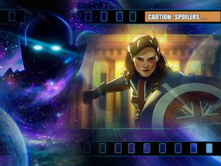 'What If... Captain Carter were the First Avenger?'  (Disney+ review)